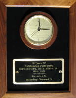 10 Years Of Outstanding Partnership: PADS Software, Inc. & Milena, Inc., 1990-2000